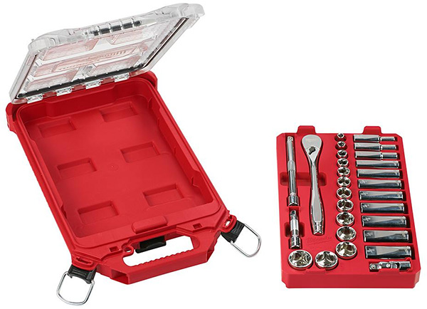 Milwaukee 48-22-9481 Packout Mechanics Tool Set Removable Tray