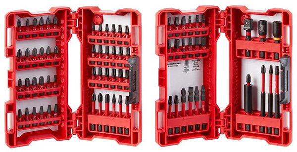 Milwaukee 74-Piece SHOCKWAVE Impact Screwdriver Bit Set
