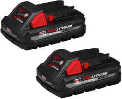 Milwaukee M18 CP 3Ah High Output Battery 2-Pack
