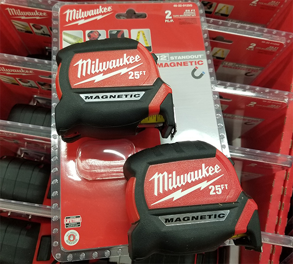 Milwaukee Tape Measure 2-Pack Promo Home Depot Holiday 2019