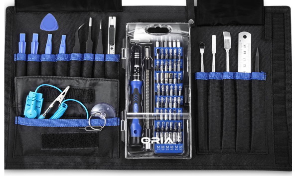 ORIA Precision Screwdriver Kit, 76-in-1 Set