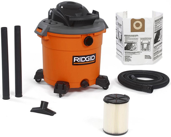 Ridgid WD1641 Black Friday 2019 Shop Vacuum Special