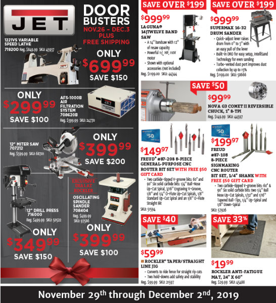Rockler Black Friday 2019 Page 2