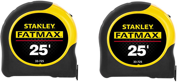 Stanley Tape Measure 2-Pack Deal FMHT81023D Holiday 2019