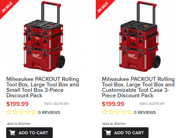 Tool Nut Milwaukee Packout Holiday 2019 Deals