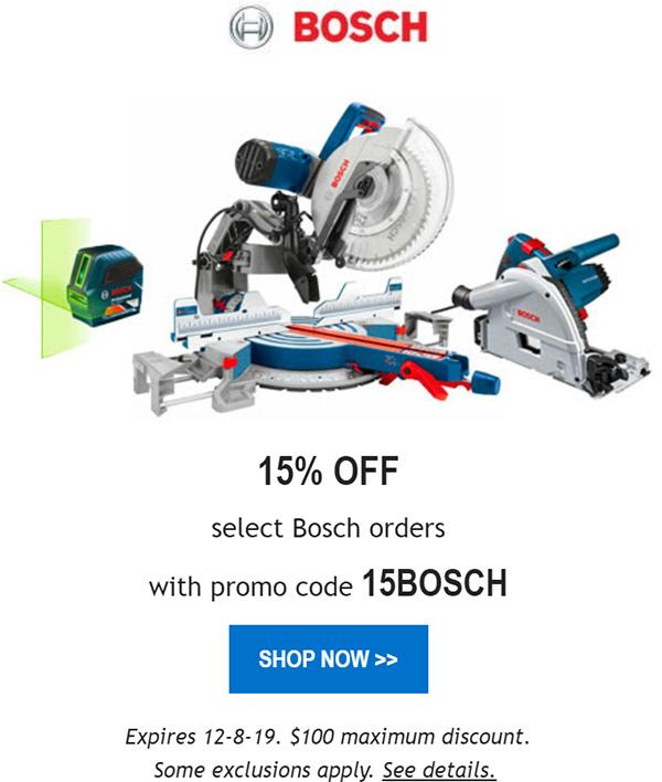 Acme Tools Bosch Promo 12-7-19
