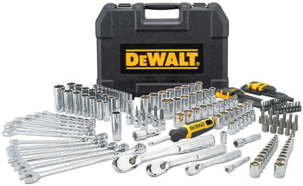 Dewalt 173pc Chrome Polished Mechanics Tool Set DWMT41019