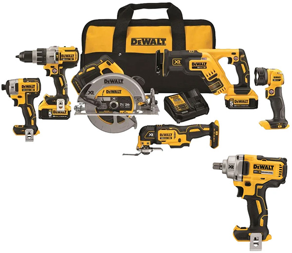 Dewalt DCK694P2DCF894B 20V Max Cordless Power Tool Combo Kit