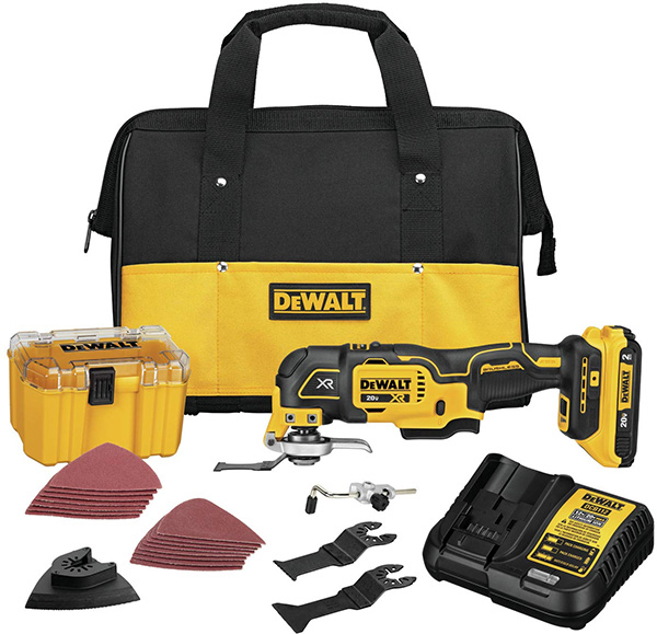 Dewalt DCS356D1 Cordless Oscillating Multi-Tool Kit