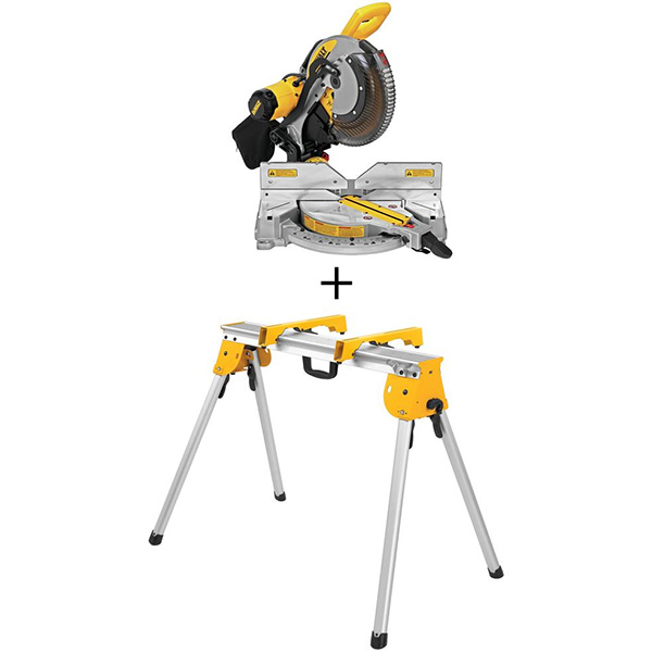 Dewalt DWS716 Miter Saw and Bonus Stand