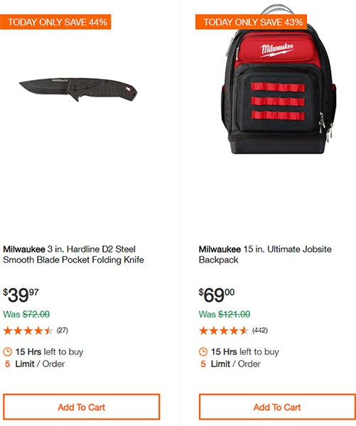 Home Depot Cordless Power Tool Deals of the Day 12-16-19 Page 13