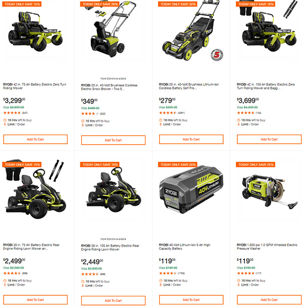 Home Depot Cordless Power Tool Deals of the Day 12-3-19 Page 7