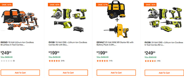 Home Depot Cordless Power Tool Deals of the Day 12-3-19 Page 9