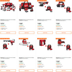 Home Depot Cyber Monday 2019 Tool Deals Hero