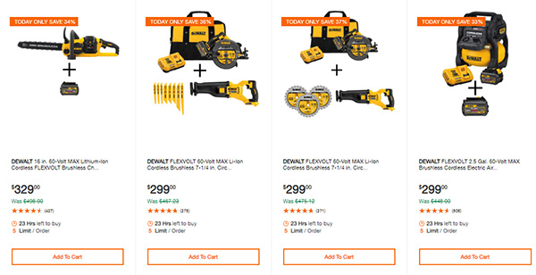 Home Depot Cyber Monday Dewalt Milwaukee Cordless Power Tool Deals Page 10