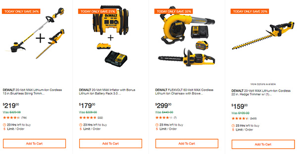 Home Depot Cyber Monday Dewalt Milwaukee Cordless Power Tool Deals Page 12