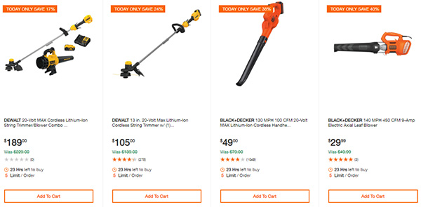 Home Depot Cyber Monday Dewalt Milwaukee Cordless Power Tool Deals Page 13