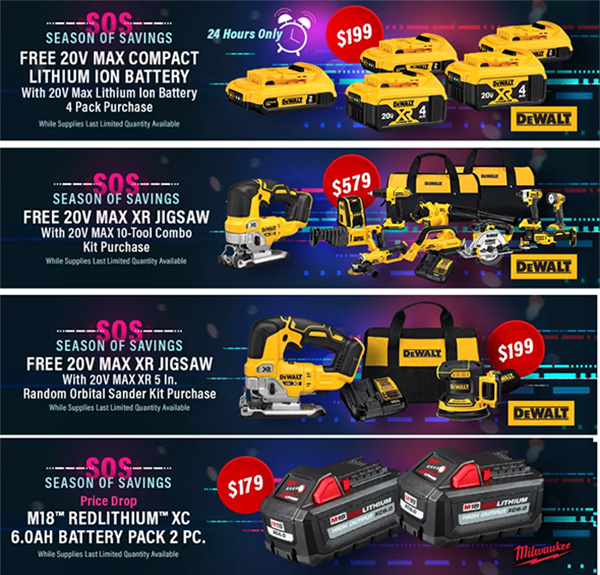 International Tool Cyber Monday 2019 Tool Deals