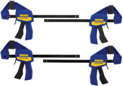 Irwin Bar Clamp 4-Pack