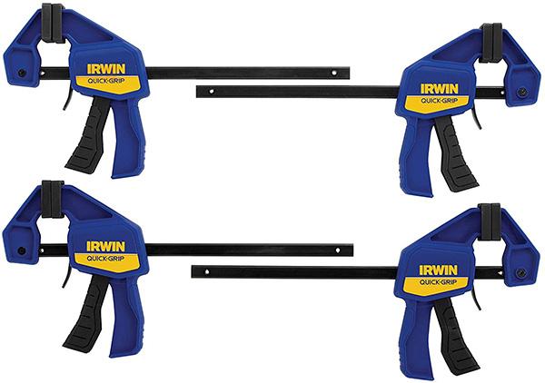Irwin Bar Clamp 4-Pack