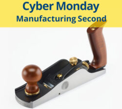 Lee Valley Cyber Monday Low-Angle Smoothing Plane Manufacturing Second