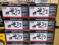 Porter Cable 5pc Combo Kit at Costco Holiday 2019