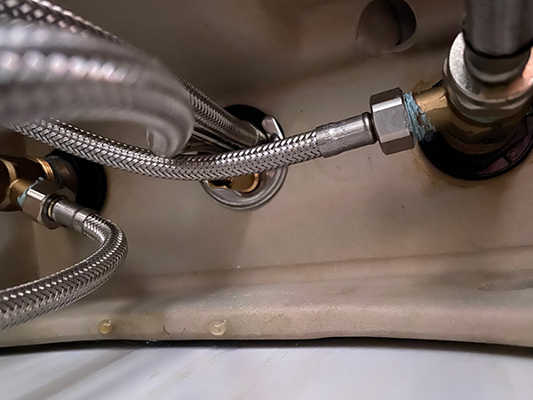 Bathroom Sink Condensation