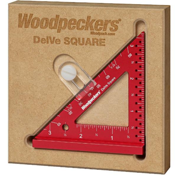 DelV square in protective MDF holder