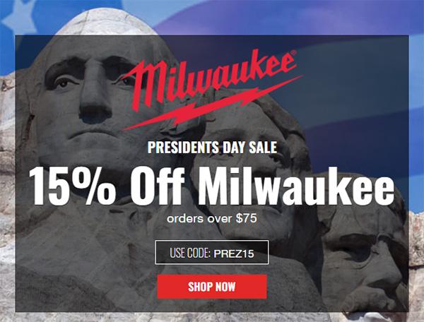 CPO Milwaukee Deal Presidents Day 2020