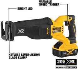 Dewalt 20V Max DCS368 Power Detect Reciprocating Saw