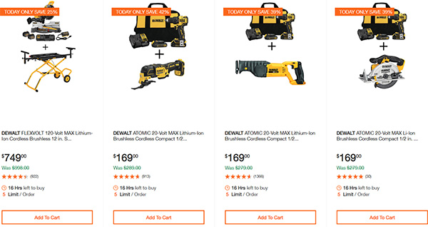 Dewalt Milwaukee Tool Deals of the Day 02032020 Page 1