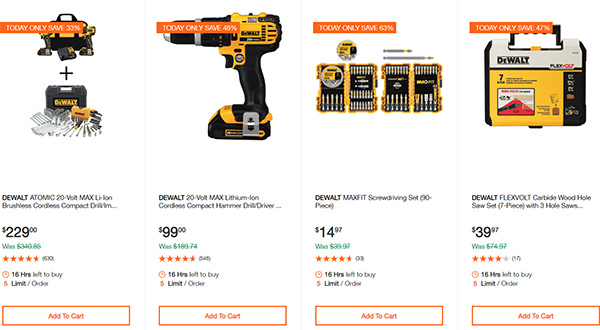 Dewalt Milwaukee Tool Deals of the Day 02032020 Page 2