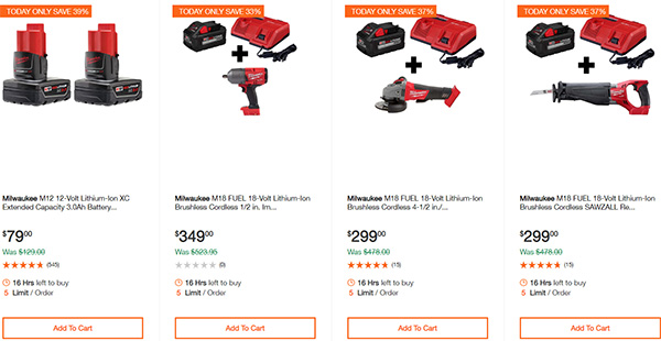 Dewalt Milwaukee Tool Deals of the Day 02032020 Page 5