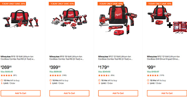 Dewalt Milwaukee Tool Deals of the Day 02032020 Page 7