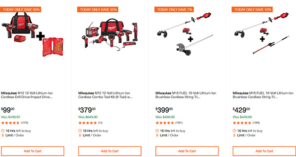 Dewalt Milwaukee Tool Deals of the Day 02032020 Page 8