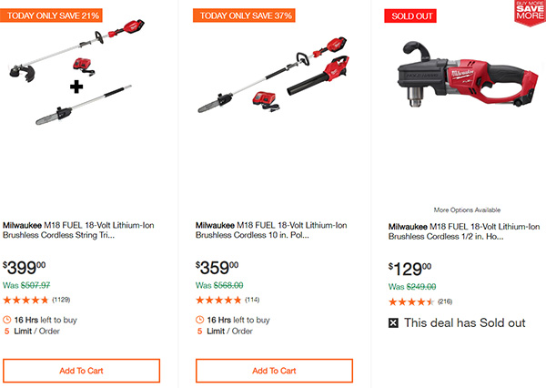 Dewalt Milwaukee Tool Deals of the Day 02032020 Page 9