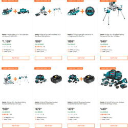 Makita Cordless Power Tool Deals of the Day 2-14-2020