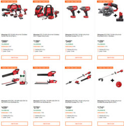 Milwaukee Cordless Power Tools Hand Tools Deal of the Day 2-24-20 Hero