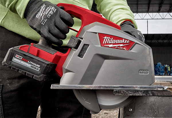 Milwaukee M18 Fuel Metal-Cutting Circular Saw 2982