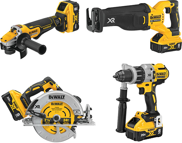 Dewalt Power Detect Cordless Power Tools