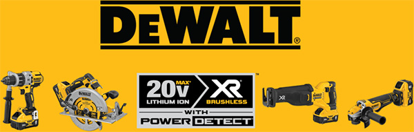 Dewalt Power Detect Cordless Tools