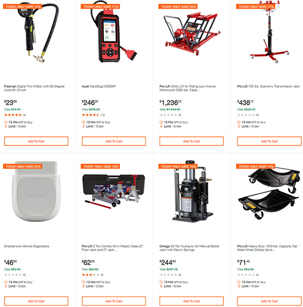 Home Depot Milwaukee Dewalt Ridgid Husky Tool Deals of the Day 3-22-20 Page 6