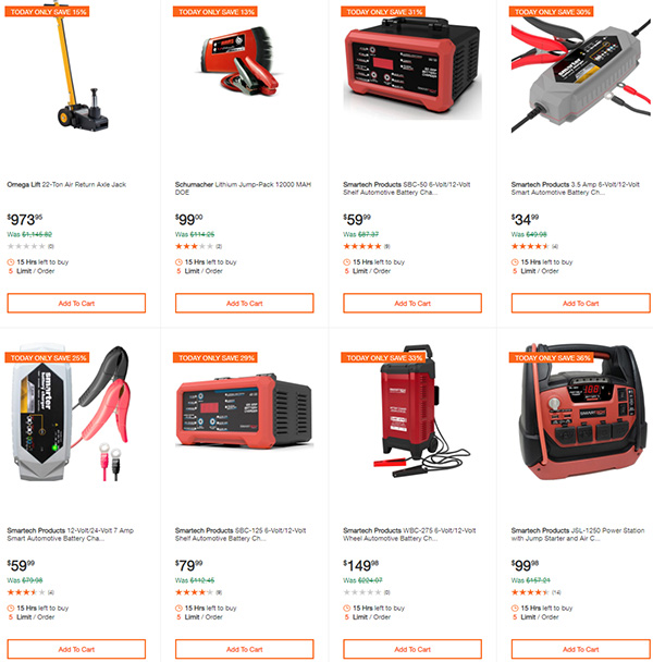 Home Depot Milwaukee Dewalt Ridgid Husky Tool Deals of the Day 3-22-20 Page 7