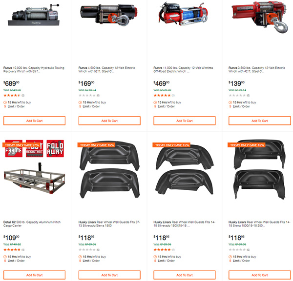 Home Depot Milwaukee Dewalt Ridgid Husky Tool Deals of the Day 3-22-20 Page 9
