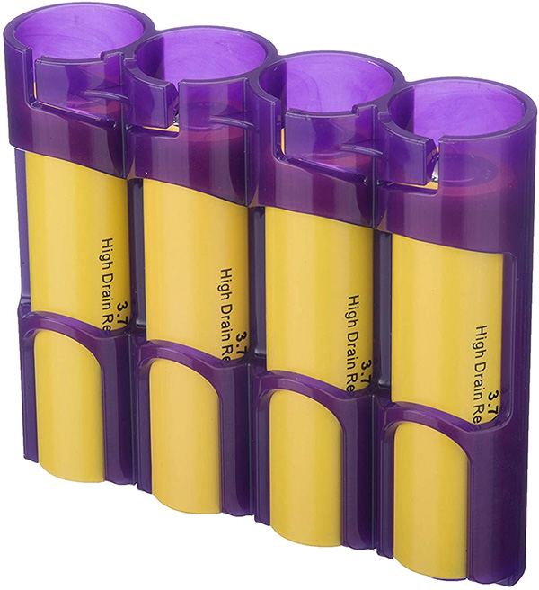 PowerPax 18650 Rechargeable Battery Holder
