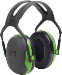 3M Peltor Green Earmuffs Hearing Protection