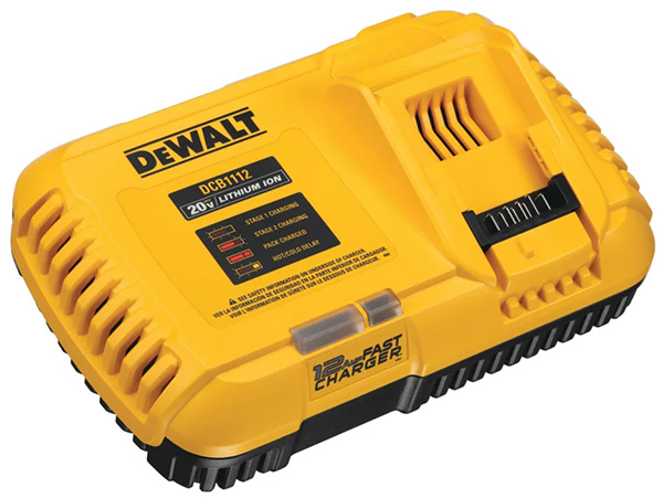 Dewalt DCB1112 Cordless Power Tool Battery Fast Charger