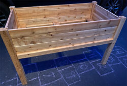 Greenes Cedar Elevated Planter Box