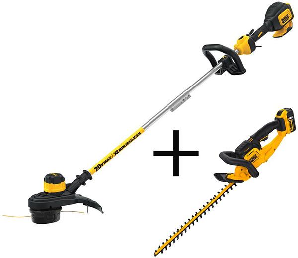 Home Depot Dewalt Milwaukee Tool Deals of the Day 4-23-20 Dewalt Lawn and Garden Tools Bundle
