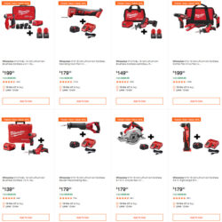 Home Depot Dewalt Milwaukee Tool Deals of the Day 4-23-20 Hero Image